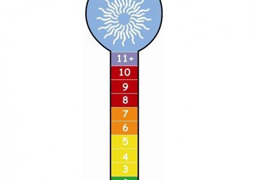 Ở những nơi không gian rộng thì mức độ UV thường lớn